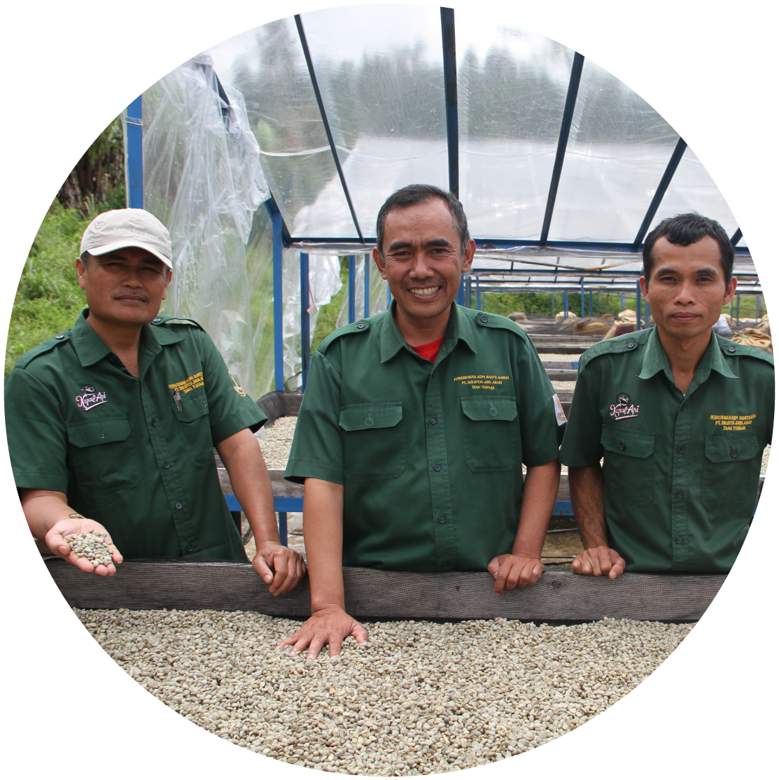 We plant, grow, harvest and process the beans with one thing in mind: Quality Beans & Quality People